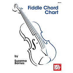 Mel Bay Fiddle Chord Chart (9780786685165)