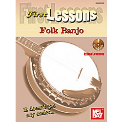 Mel Bay First Lessons Folk Banjo (22257BCD)