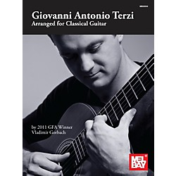 Mel Bay Giovanni Antonio Terzi: Arranged for Classical Guitar (30004)