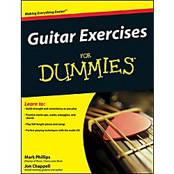 Mel Bay Guitar Exercises for Dummies  Book/CD Set (9780470387665)