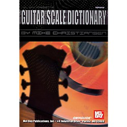 Mel Bay Guitar Scale Dictionary QWIKGUIDE (98696)