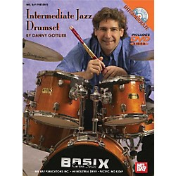 Mel Bay Intermediate Jazz Drumset DVD and Chart (20548DP)