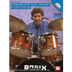 Mel Bay Intermediate Rock Drumset DVD and Chart (20545DP)
