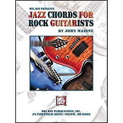 Mel Bay Jazz Chords For Rock Guitarists Book (20815)