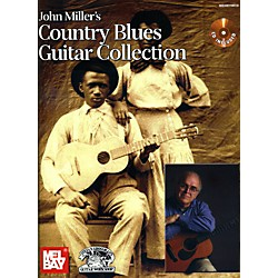 Mel Bay John Miller's Country Blues Guitar Collection Book/CD Set (30015BCD)