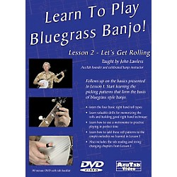 Mel Bay Learn to Play Bluegrass Banjo DVD - Lesson 2: Let's Get Rolling (DLPB2)