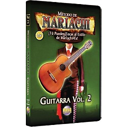 Mel Bay Metodo De Mariachi Guitarra DVD, Volume 2 - Spanish Only (MCGA2D)