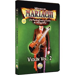 Mel Bay Metodo De Mariachi Violin DVD, Volume 2 - Spanish Only (MCV2D)