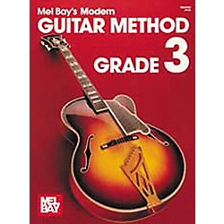 Mel Bay Modern Guitar Method Book Grade 3 (93202)