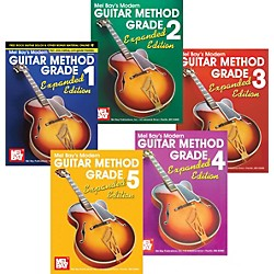 Mel Bay Modern Guitar Method Expanded Edition Grades 1-5 (KIT-907557)