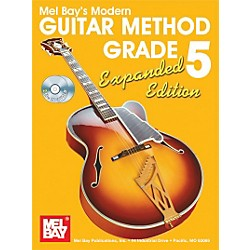 Mel Bay Modern Guitar Method Expanded Edition Vol. 5 Book/2 CD Set (93204EBCD)