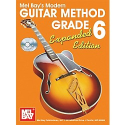 Mel Bay Modern Guitar Method Expanded Edition Vol. 6 Book/2 CD Set (93205EBCD)