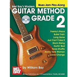 Mel Bay Modern Guitar Method Grade 2 Blues Jam Play-Along Book and CD (21722BCD)