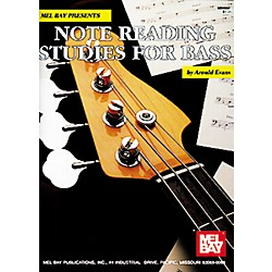 Mel Bay Note Reading Studies for Bass Book (95297)