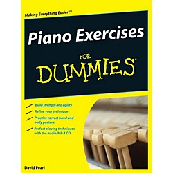 Mel Bay Piano Exercises for Dummies  Book/CD Set (9780470387658)