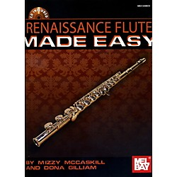 Mel Bay Renaissance Flute Solos Made Easy Book/Cd Set (21349BCD)