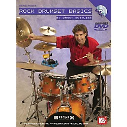 Mel Bay Rock Drumset Basics DVD and Chart (20544DP)