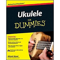 Mel Bay Ukulele for Dummies  Book/CD Set (9780470977996)