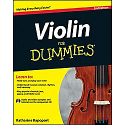 Mel Bay Violin For Dummies  Book/CD Set (9781118273593)