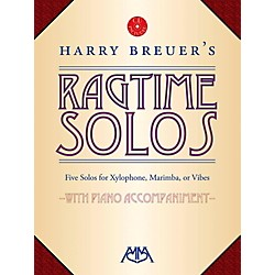 Meredith Music Harry Breuer's Ragtime Solos Book/CD (317172)
