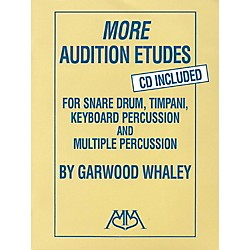 Meredith Music More Audition Etudes for Snare Drum, Timpani, Keyboard Percussion and Multiple Percussion Book/CD (317024)