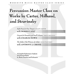 Meredith Music Percussion Masterclass On Works By Carter, Milhaud And Stravinsky (317204)