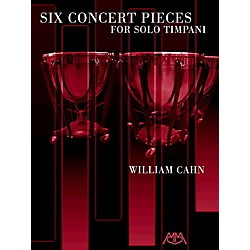 Meredith Music Six Concert Pieces For Solo Timpani (317125)