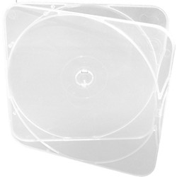 Microboards CB-11 DURASLIM CD/DVD/Blu-ray Cases - 500 Pack (CB-11 DURASLIM/C)