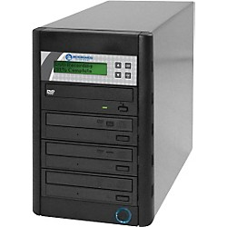 Microboards Quic Disc DVD H123, Economy CD/DVD Duplicator 1:3 with Hard-Drive (USED004000 QD-DVD-H123)