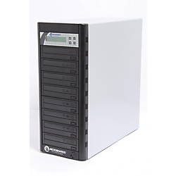 Microboards Quic Disc DVD H127, Economy CD/DVD Duplicator 1:7 with Hard-Drive (USED005001 QD-DVD-H127)