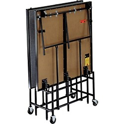 Midwest Folding Products 4' x 8' Mobile Stage (MS08P)