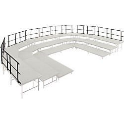 "Midwest Folding Products Stages & Seated Risers Guard Rails 36"" Long (GRU30)"
