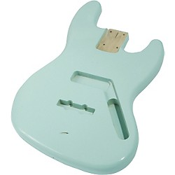 Mighty Mite MM2703 Jazz Bass Replacement Body (MM2703SFGR)
