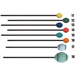 Mike Balter Ensemble Series Black Birch Marimba Mallets (11BB)