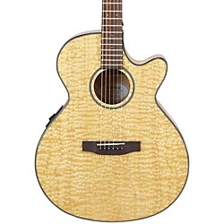 Mitchell MX400 Exotic Wood Acoustic-Electric guitar (MX400QAB)