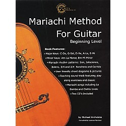 Mixta Publishing Co. Mariachi Method for Guitar (Book/CD) (695717)