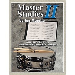 Modern Drummer Master Studies 2 - More Exercises For The Development Of Control And Technique Book (6620101)