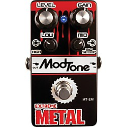 Modtone MT-EM Extreme Metal Guitar Effects Pedal (USED004000 MT-EM)