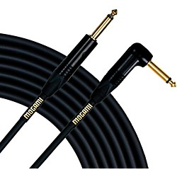 Mogami Gold Instrument Cable Angled - Straight Cable (GOLD INST 18R)