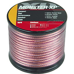 Monster Cable Monster XP Clear Jacket Compact Speaker Cable MKII Mini Spool (127860)