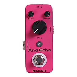 Mooer Ana Echo Analog Delay Guitar Effects Pedal (USED004000 Ana Echo)