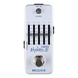 Mooer Graphic B Bass Equalizer Effects Pedal (Graphic B)