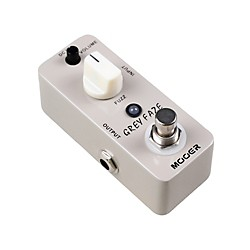 Mooer Grey Faze Vintage Fuzz Guitar Effects Pedal (USED004000 Gray Faze)
