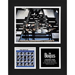 "Mounted Memories Beatles ""A Hard Day's Night"" 11x14 matted photo (UMCEBEA735)"
