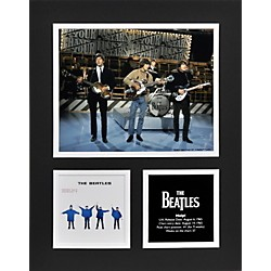 "Mounted Memories Beatles ""Help!"" 11x14 matted photo (UMCEBEA745)"