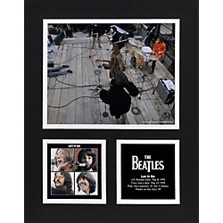 "Mounted Memories Beatles ""Let It Be"" 11x14 matted photo (UMCEBEA785)"