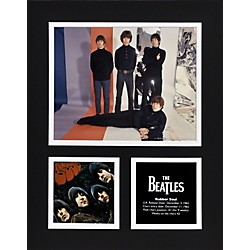 "Mounted Memories Beatles ""Rubber Soul"" 11x14 matted photo (UMCEBEA750)"