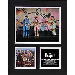 "Mounted Memories Beatles ""Sgt. Pepper"" 11x14 matted photo (UMCEBEA760)"