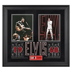 "Mounted Memories Elvis Presley ""1968"" Framed Presentation (FRCEPRE725)"