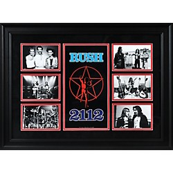"Mounted Memories Rush ""2112"" Limited Edition Framed Presentation (FRCERUS290)"